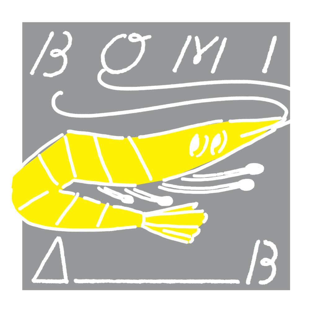BOMI『A_B』 購入特典用イラスト
